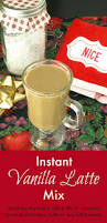 Great Hostess Gifts Instant Latte Mix Recipe Coffee Lover Gifts Latte And Vanilla