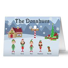personalized christmas cards family character personalized christmas cards christmas