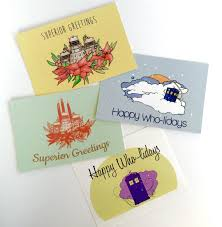 geek art gallery cards nerdy christmas cards