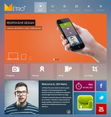 responsive design joomla this free bootstrap joomla template features a responsive layout