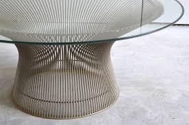 coffee table amazing vintage coffee table warren platner table