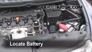 battery replacement 2006 2011 honda civic 2009 honda civic lx