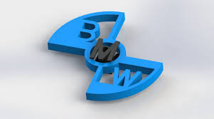 logo bmw 3d spinner for print bmw 3d model in other 3dexport