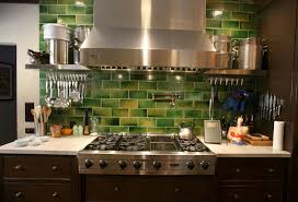 Kitchen Tile Backsplash Images Green Tile Kitchen Backsplash 2017 Coolest Lime Green Glass Tile
