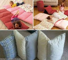 pillow bed for kids cozy bed in a bag for your kids home design garden architecture