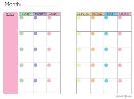 25 unique printable calendar template ideas on pinterest