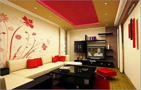 living room feature wall designs for wall painting ideas for