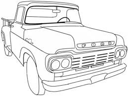 muscle car coloring pages kids coloring