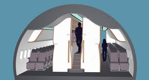 Cabin Design New Aircraft Cabin Design To Improve Comfort In Economy And