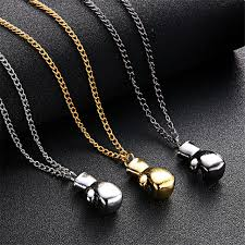 2015 men s jewelry 8mm 60cm new arrival lnrrabc 2018 new fashion men boys mini boxing glove necklace fitness