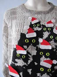 ugly christmas sweater crazy cat lady theme ugly sweater diy