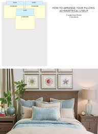 how to decorate a headboard how to arrange pillows on bed how to decorate