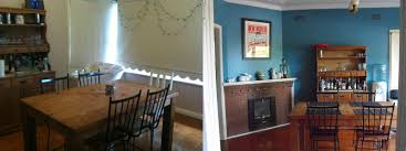 Where Dreamers Dwell Dining Room Stage  Painting In Teal - Teal dining room