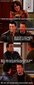 Joey Friends Meme - my favourite bromance god i miss f r i e n d s friends tv tvs