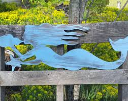wooden mermaid wall large wall mermaid etsy