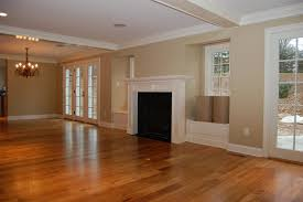 interior dark hardwood flooring also crown molding and white