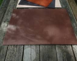 leather desk mat etsy