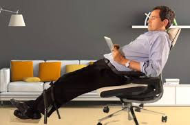 chair pitched as answer to new ways we sit on job the new york times