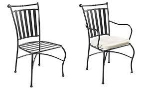 chaises en fer forgé un mobilier de jardin en fer forgé pour un jardin exceptionnel