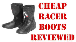 cheap motorbike boots cycle gear bilt road racer motorcycle boots review youtube