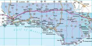 map ok panhandle florida road maps statewide and regional