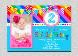 create rainbow birthday invitations free templates invitations
