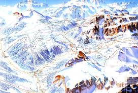 Piste Maps For Italian Ski by Arabba Marmolada Ski Map Dolomiti Superski Italy Europe