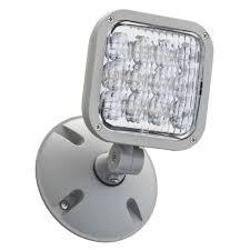 Emergency Lighting Fixture Lithonia Lighting Thermoplastic Led Emergency Remote Ela Led