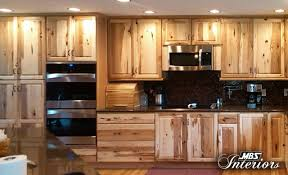 Elmwood Kitchen Cabinets Rustic Hickory With Dual Wall Ovens Kitchen Cabinets For Sale