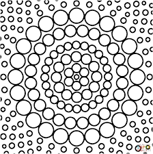circle coloring pages circle mandala coloring page free printable