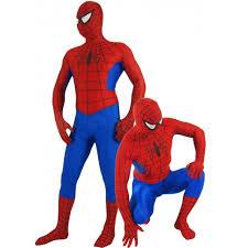 classic red spiderman halloween costume cosercosplay com