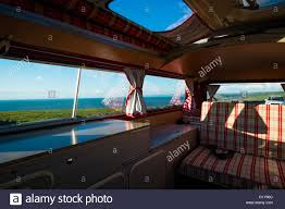 volkswagen camper inside inside a vw van stock photos u0026 inside a vw van stock images alamy