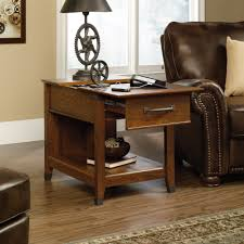 Cherry Wood Side Table Carson Forge Smartcenter Side Table 413350 Sauder