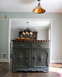 remodelaholic kitchen island from antique sideboard