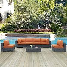 Wayfair Patio Furniture Furniture Modway Summon Piece Outdoor Patio Sectional Seating