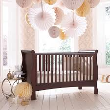 Pali Marina Crib Izziwotnot Bailey Dark Wood Cot Bed A Stunning Sleigh Cot Bed