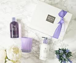 spoil yourself with molton brown exquisite vanilla and violet