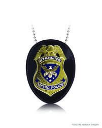 jul150348 arrow tv starling city police badge previews world