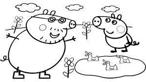 Peppa Pig 2017 Book Peppa Pig Coloring Pages Nick Jr Spremenisvet Info