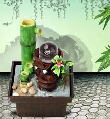 indoor water fountain bamboo founatain novelty items home