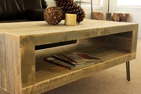 Making Wooden End Table by Amazon Com Reclaimed Wood Coffee Table Handmade