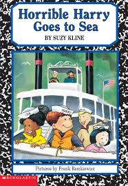 horrible harry goes to sea by suzy scholastic