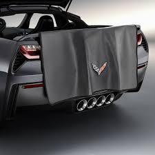 corvette accessories unlimited amazon com corvette c7 stingray rear fasia bumper protector mat