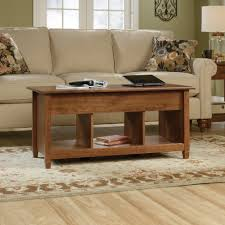 sauder coffee and end tables edge water lift top coffee table 419399 sauder