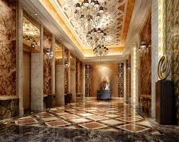 Luxury Lobby Design - luxury hotel lobby with elevator 3d model cgtrader