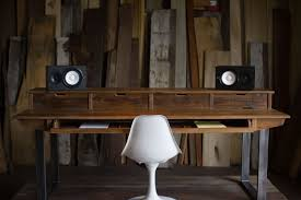 Building A Wooden Desktop by Custom Desks Custommade Com