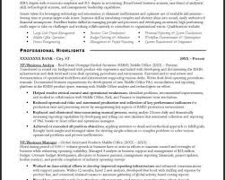 Sample Business Analyst Resume by Business Analyst Resume Sample Financial Services Sample Resume