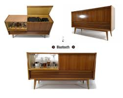 sold out vintedgeco turntable ready series mid century
