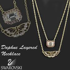 double layered necklace images Polaris rakuten global market swarovski swarovski necklace jpg