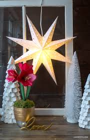 Home Decor Stars Diy Paper Star Window Decoration Lia Griffith